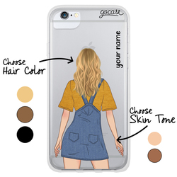 #OOTD - Denim Dress Phone Case