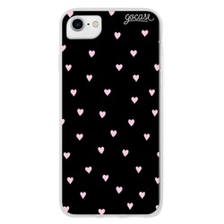 Black Pink Hearts Phone Case