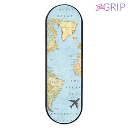 Gogrip Black - World Map Phone Case