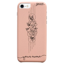 Royal Rose - Fascino - Flowers in Lines Phone Case