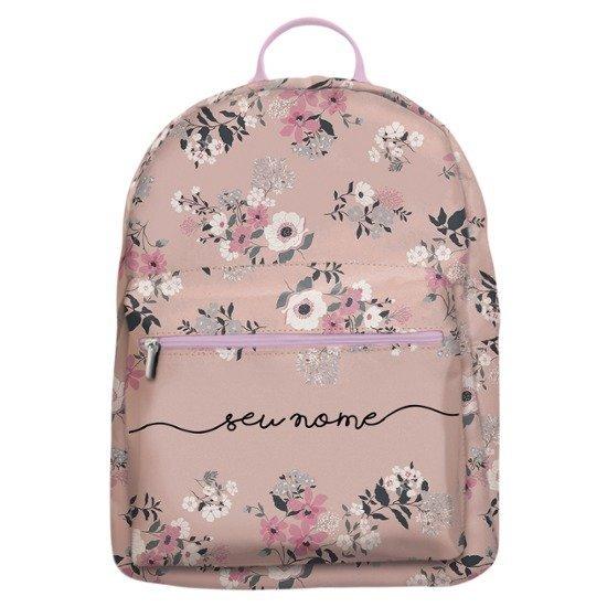 Mochila Gocase Bag Personalizada - Bem Floral Manuscrita