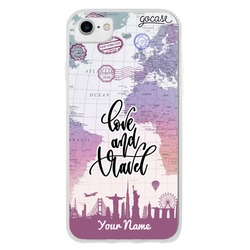 Love and Travel Customizable Phone Case