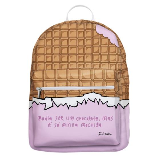 Mochila Gocase Bag - Mochila de Chocolate