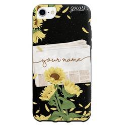 Black Case - Sunflowers Morning Phone Case