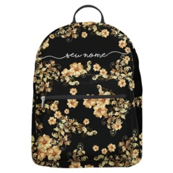 Mochila Gocase Bag - Golden Flowers Manuscrita