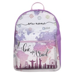 Mochila Gocase Bag - Love And Travel Manuscrita