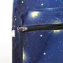 Mochila colecionador de estrelas detalhe