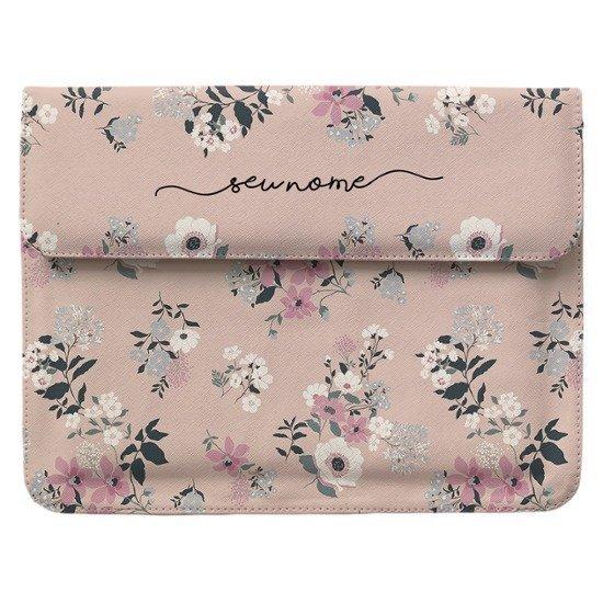 Capa para Notebook Notebook Personalizada - Bem Floral Manuscrita