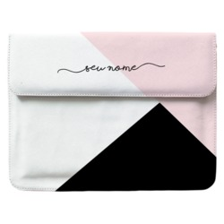 Case Clutch Notebook Personalizada - Tricolor Manuscrita