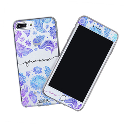 Kit Purple Handwritten (Case + Screen Protector)