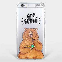 Capinha para celular Amo Sushi