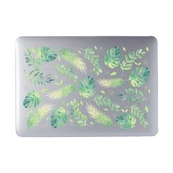 Laptop Case MacBook - Green Leaves