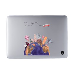 Laptop Case MacBook - World Monuments