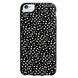 Black Case - Dots White Phone Case