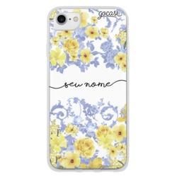 Capinha para celular Yellow Garden Manuscrita