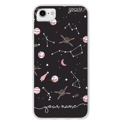 Pink Planets Phone Case