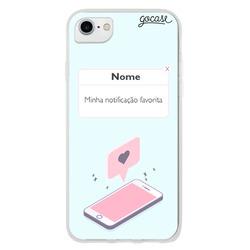 Capinha para celular Notificação Favorita