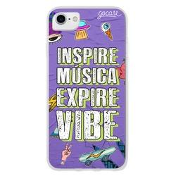 Capinha para celular Inspire Música