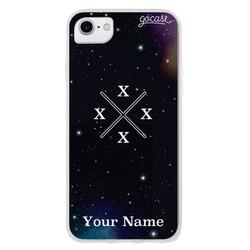 Crossed Initials Universe Phone Case