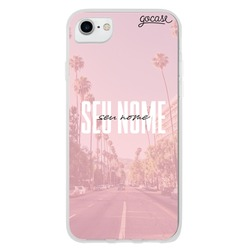 Capinha para celular California Dream Personalizável
