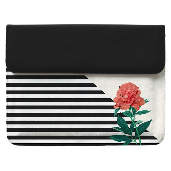Case Clutch Notebook - Flor Listrada Manuscrita