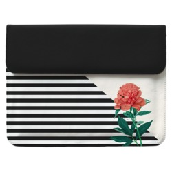 Case Clutch Notebook - Flor Listrada Manuscrita