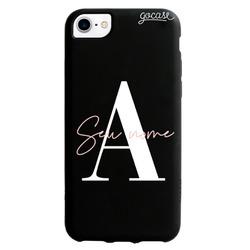 Capinha para celular Black Case - Iniciais Fancy