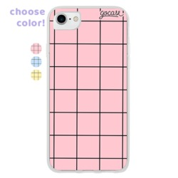 Grid Lines - Colored Phone Case