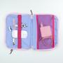 Kit ziper rosa 1x1