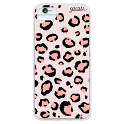 Animal Print Full - Rose Phone Case