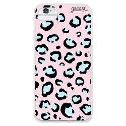 Animal Print Full - Rose and Blue Phone Case