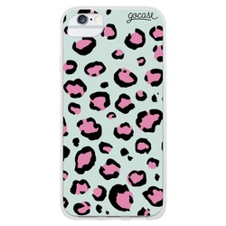 Animal Print Full - Pink and Light Blue Phone Case