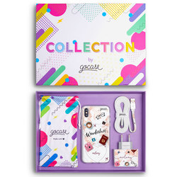 Kit Wanderlust (Case + wall charger + cable + collection box)