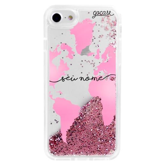 Capinha para celular Flow - Pink Mundi