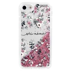 Capinha para celular Flow - Bem Floral Manuscrita
