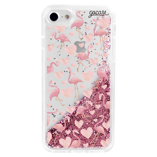 Capinha para celular Flow - Flamingos