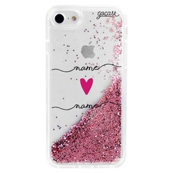 Glitter Flow - Forever Love Handwritten Phone Case