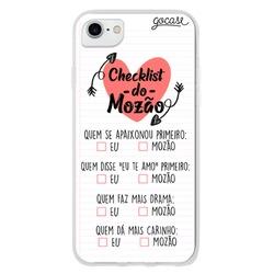 Capinha para celular Checklist do Mozão
