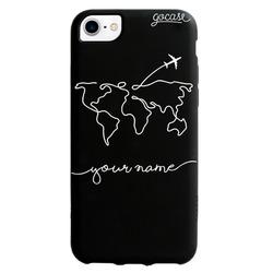 Black Case - World Travel Phone Case