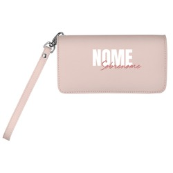 Carteira Soho Personalizada - Pink Basic - Stylish