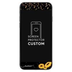 Handwritten Sunshine Black Screen Protector - Tempered Glass  Phone Case