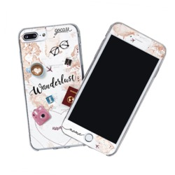 Kit World Trip Customizable (Skin Custom White + Case)