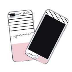 Kit Tricolor Stripes (Skin Custom White + Case)