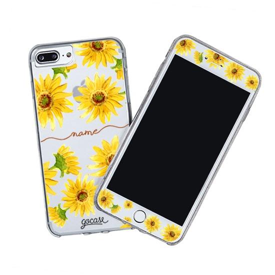 Kit Sunflower Handwritten (Skin Custom White + Case)
