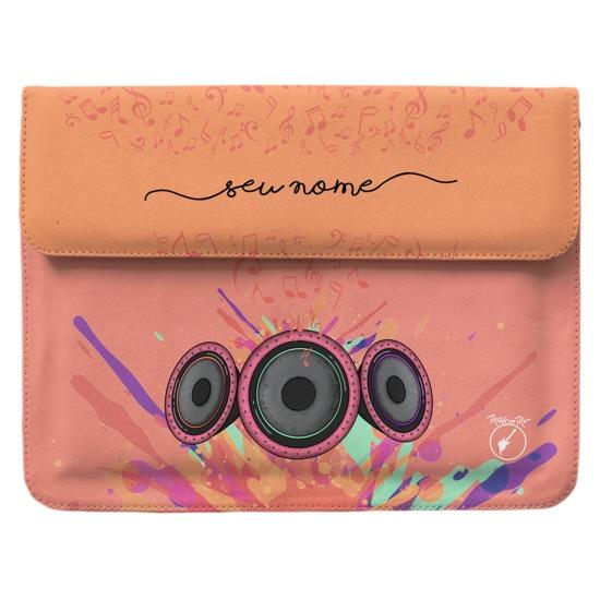 Capa para Notebook - Sente a Vibração Manuscrita