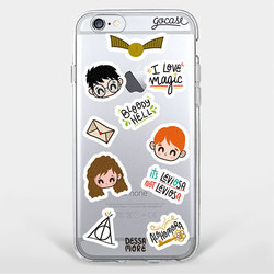 Capinha para celular Harry Patches
