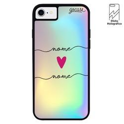 Capinha para celular Holo -   Eterno amor - Manuscrita