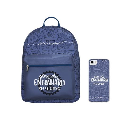 Kit Sou da Engenharia (Mochila + Case)