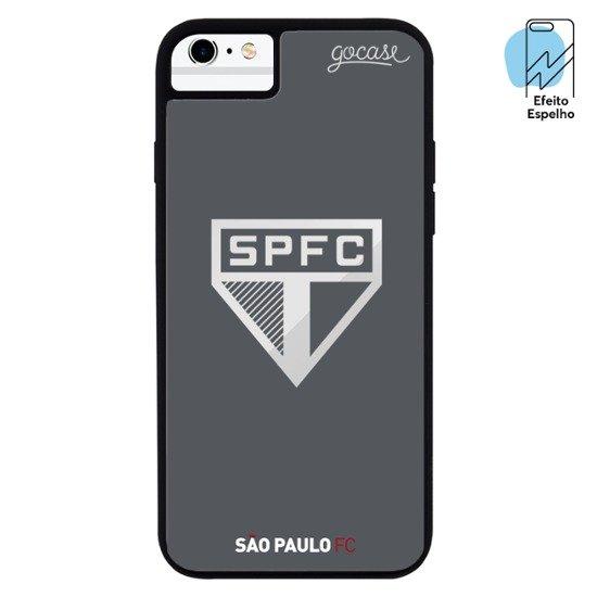 Mirror - São Paulo - Escudo Espelhado Cinza