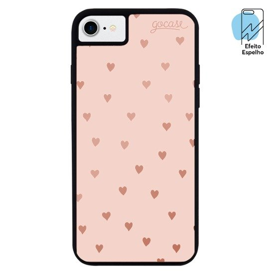 Mirror - Hearts Pink